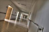 Un couloir ... photographié comme une mer*de
