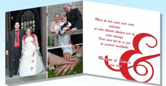 carte de remerciement veso - Carte De Remerciement Mariage Pas Cher