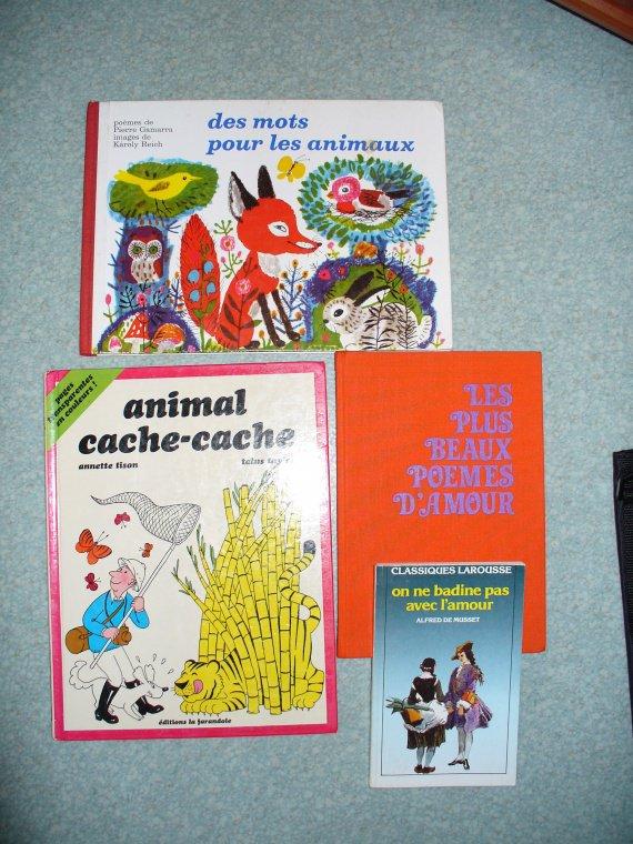 livres ENFANTS + ADULTES