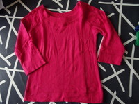 pull moulant KIABI FREE taille L 38 rose manches 3/4 tbe 7€