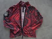 veste légère tbe zippée sur le devant 6€