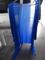 veste longue légère évasé bleu fluide taille L 38/40 TTBE 8€