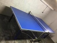 Table de ping pong Cornilleau Impulse Outdoor + raquettes et balles