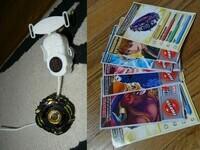 Toupie Dracco spin + poster, livre et cartes