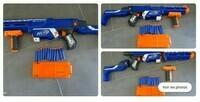 Fusil nerf Retaliator n-strike elite + fléchettes