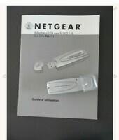 Adaptateur wifi sans fil NETGEAR +Cd + cable