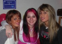 Avec ma soeur et ma meilleure amie