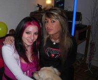 Aude et moi, 20 ans d'amitié...(et accessoirement la tête de mon Filou ^^)