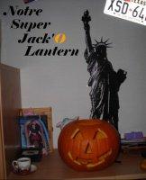 Notre 1er Jack'O Lantern