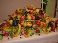 la cascade de fruits
