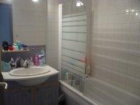 la salle de bain..