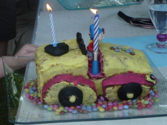 Gâteau 2 ans