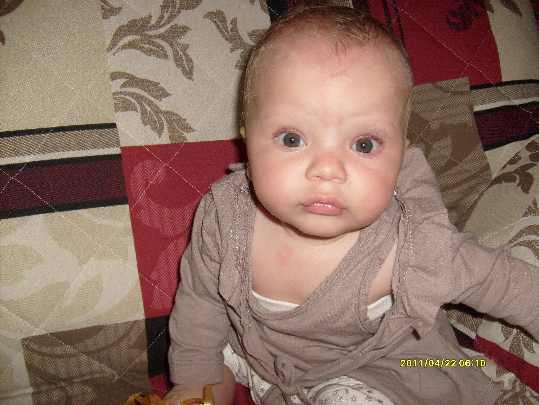 Couleur de cheveux bebe 5 mois