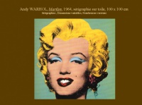 Marilyn, Andy WARHOL