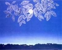 La page blanche, René Magritte