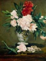 Vase de pivoines (Edouard Manet)