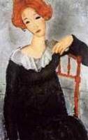 Femme aux cheveux roux (Modigliani)