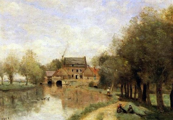 Moulin Drocourt, Corot