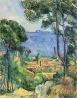 L'estaque, Cézanne