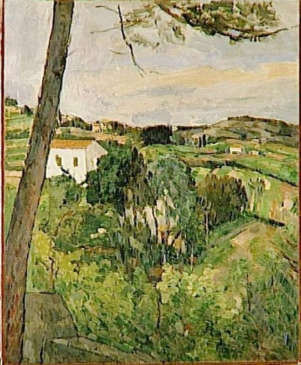 Le pin à l'estaque, Cézanne