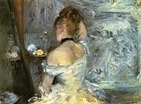 Jeune femme à sa toilette (Berthe Morisot)
