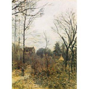 L'automne à Louveciennes (Sisley)
