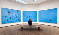 Joan-Miro (Blue-I-II-III)