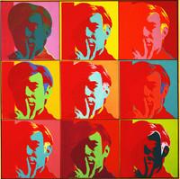 Autoportrait Andy Warhol