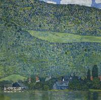 Litzlberg au bord de l'eau, Klimt