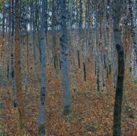 Hêtraie- Gustav Klimt