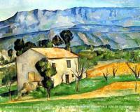 Paul Cézanne, Maison à Gardanne