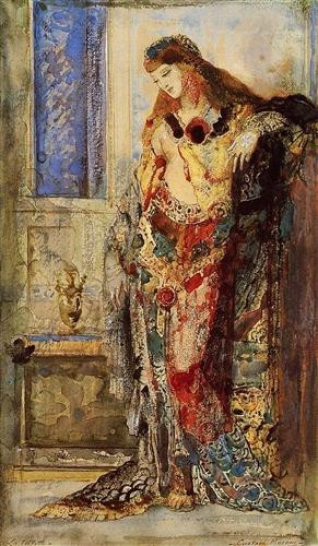 Gustave Moreau, The toilet