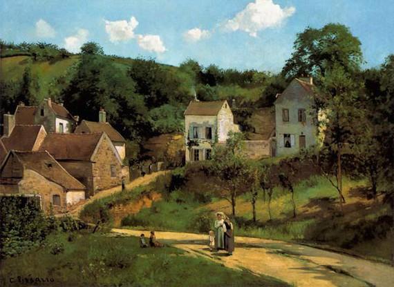 Camille Pissarro, L'hermitage Pontoise
