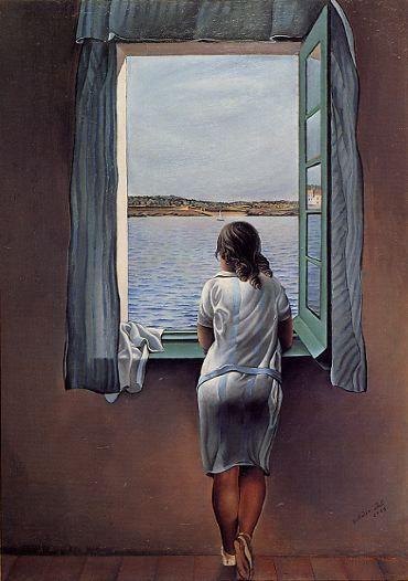 Dali, Jeune fille à la fenêtre