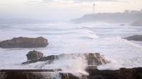 Biarritz Tempête Bruno 27 déc 2017