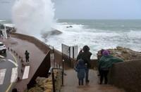 Biarritz 1er janv 2018 Tempête Carmen