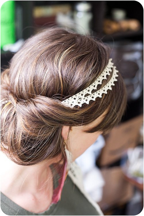 Headband dentelle 2 mariage 20 07 2013 bucolique boh me eph et nic photos club doctissimo - Headband mariage boheme ...