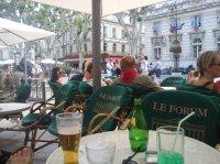 Avignon - la place de l'Horloge - 12-06-11