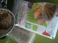 Préparation pour pain d'épautre aux graines