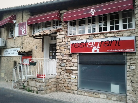 Restaurant au 6 - Bagnols-sur-Cèze