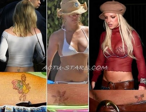 Britney-tatoo1
