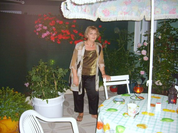 JUILLET 2009 Sur notre terrasse