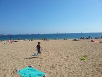 La plage de la Libération