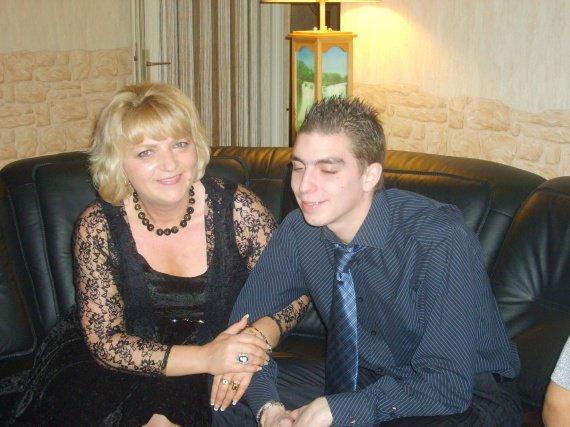 NOEL 2009, au bras de mon fils.... Grand moment de bonheur.