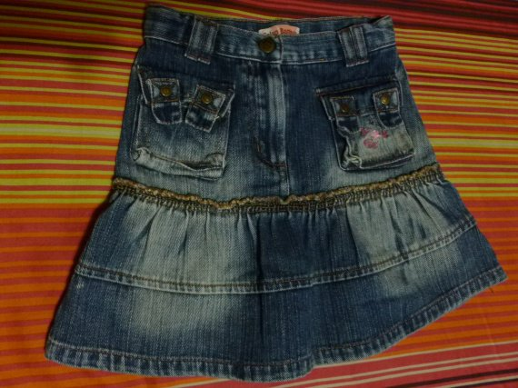 SALSO BAMBA JUPE JEANS 5 ANS