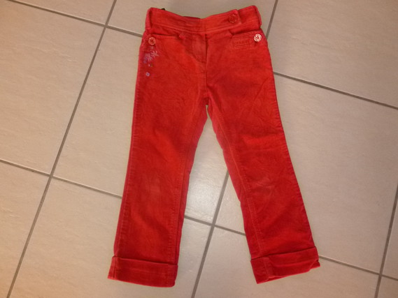 CATIMINI PANTALON VELOURS