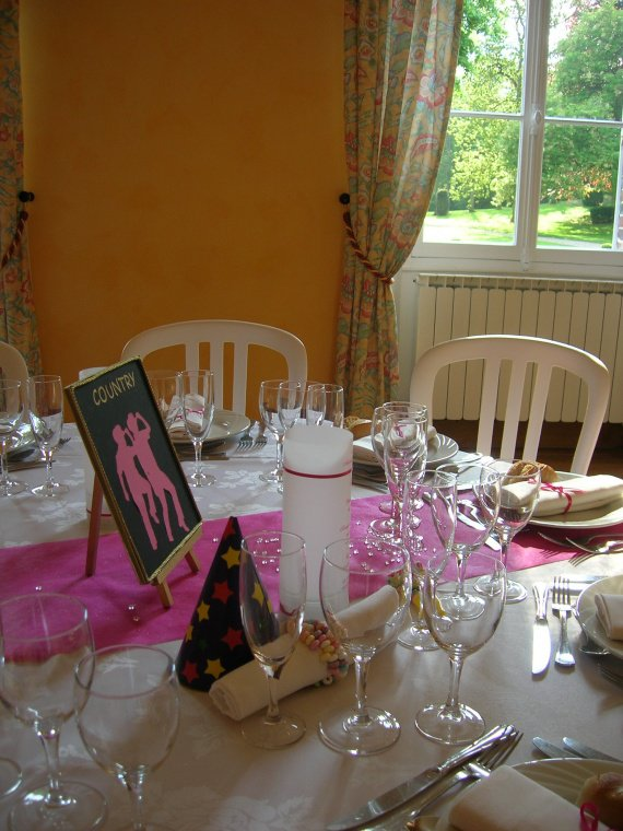 centre de table COUNTRY+ chevelet or - A vendre déco mariage ...