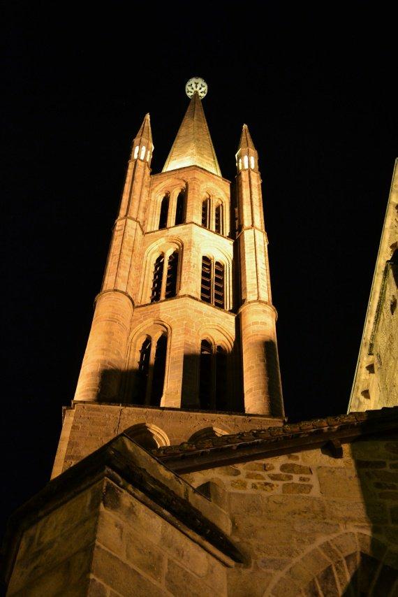 Clocher de l'église Saint-Michel.