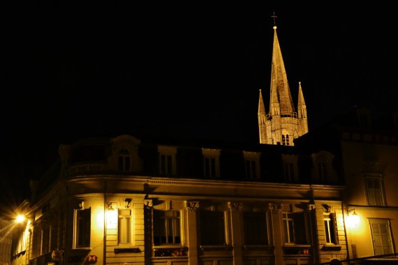 Clocher de l'église Saint-Pierre.