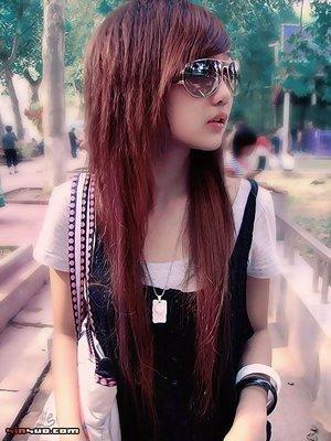 Photo coupe de cheveux emo